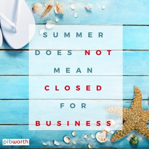 Perils of Running a Business in Summer