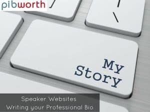 how to write a professional bio for website
