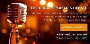 The Great Speaker Debate