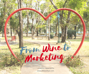 From Wine to Marketing